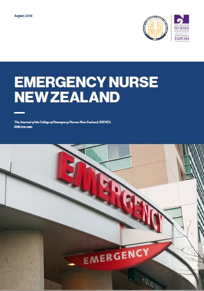 Emergency Nurse NZ Winter issue 2012
