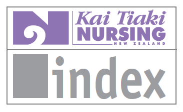Annual indexes of previous years of Kai Tiaki Nursing NZ